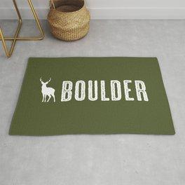 Deer: Boulder, Colorado Rug