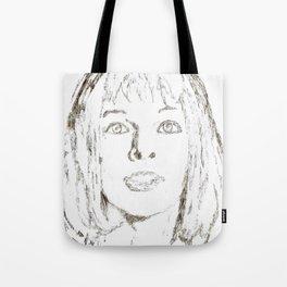 Leeloo Fifth Element sketch- Milla Jovovich Tote Bag