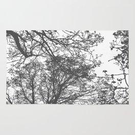 Grey Trees Abstract Rug