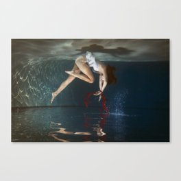 Submerge Canvas Print