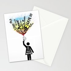 The Right way to use your mind Stationery Cards