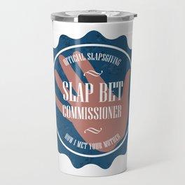 Slapbet Commissioner (How I Met Your Mother) Travel Mug