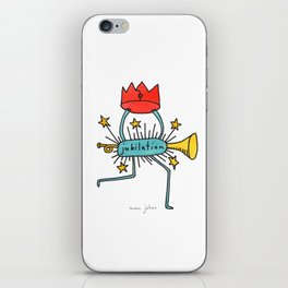 jubilation iPhone Skin