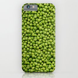 Green Peas Texture No1 iPhone Case