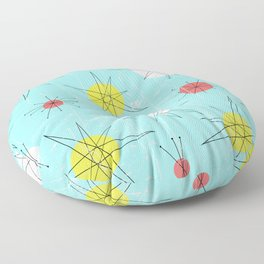 Atomic Era Art 'Planets' Floor Pillow