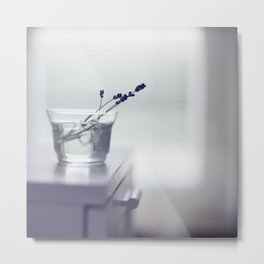 Lavender still-life Metal Print