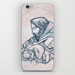 Jesus Christ Good Shepherd iPhone Skin