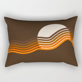 Sundown Stripes Rectangular Pillow