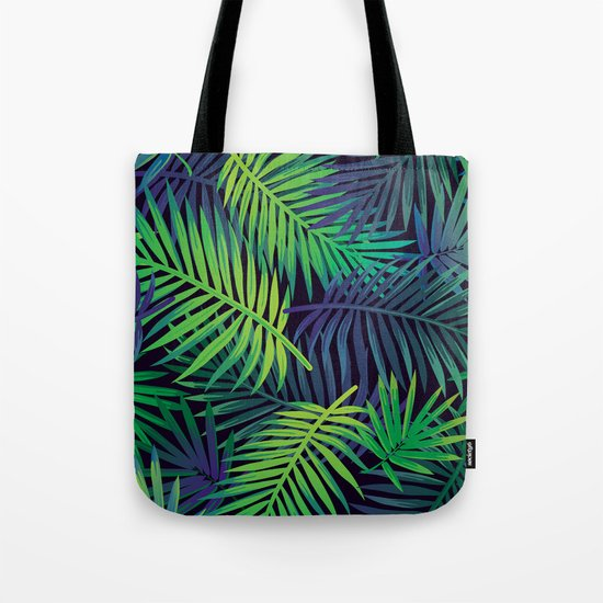 Jungle Night Tote Bag