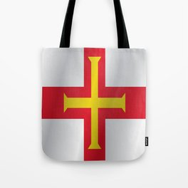 Flag of Guernsey Tote Bag