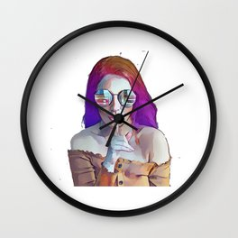 The Woman Knows What She Wants ... Shut up... Wall Clock