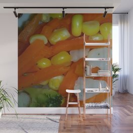 Summer Vegetables Wall Mural