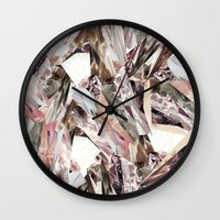 business Wall Clocks featuring Arnsdorf SS11 Crystal Pattern by RoAndCo
