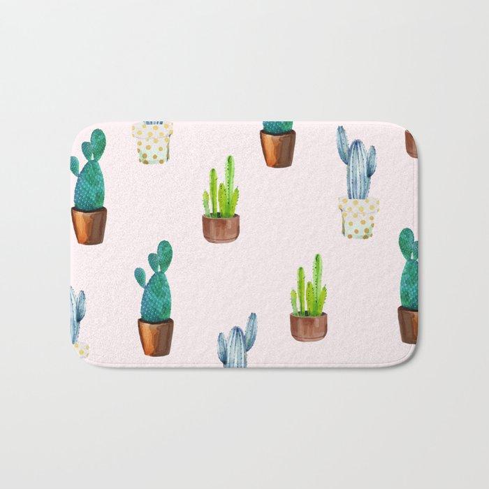 Cactus Formation #society6 #decor #buyart Bath Mat