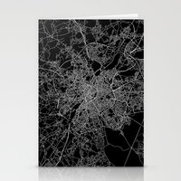 brussels Stationery Cards featuring Brussels by Line Line Lines