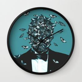 Butterfly Face Wall Clock