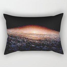 Milky Way Deep Space Telescopic Photograph Rectangular Pillow