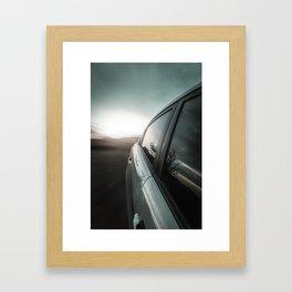 High speed Framed Art Print