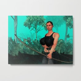 Survivor steady Metal Print