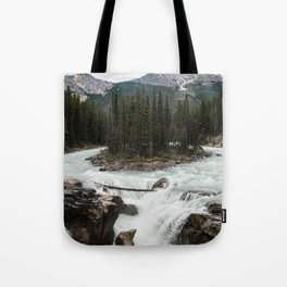 Sunwapta Falls, Jasper National Park/Icefields Parkway Canada Tote Bag