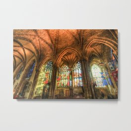 Winter Sun Cathedral Metal Print