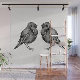 Little Blackbirds Wall Mural