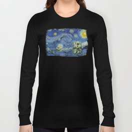 Starry Monterey Night (for Mikaela) Long Sleeve T-shirt