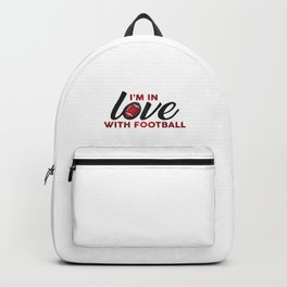 I'm in LOVE with FOOTBALL Backpack