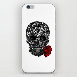 Skull Rose iPhone Skin