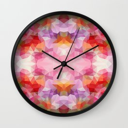 Flowers h Wall Clock