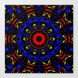 Primary Kaleidoscope 2 Canvas Print