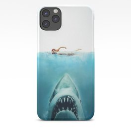 First And Last Swim Of The Day iPhone Case
