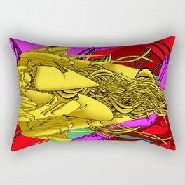 AUTOMATIC WORM 4 Rectangular Pillow