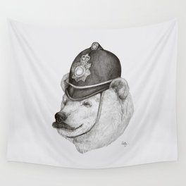 Bearly Legal Wall Tapestry