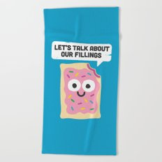 Tart Therapy Beach Towel