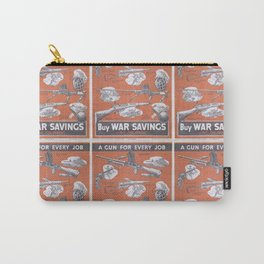 Reprint of British wartime poster. Carry-All Pouch