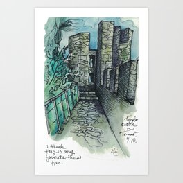 Camino Portugués - Tomar Art Print