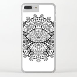 Cancer Mantra Clear iPhone Case
