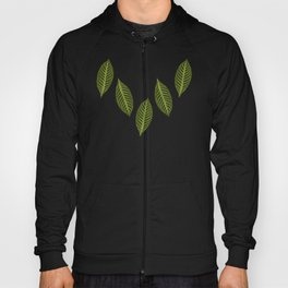 ever green foliage Hoody