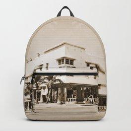 Collins Avenue, Miami Beach Backpack
