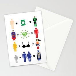 JLA Math Stationery Cards