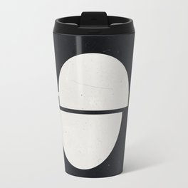 #007 Black Travel Mug