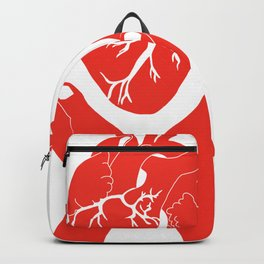 Valuable Heart - Colorful artwork Backpack