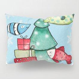 Christmas Fishes Pillow Sham