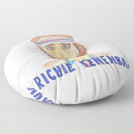 richie tenenbaum Floor Pillow