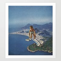 rio Art Prints featuring rio by Jesse Treece