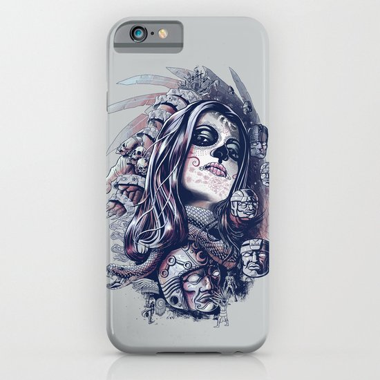 Coyolxauhqui iPhone & iPod Case