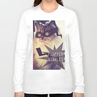 superheroes Long Sleeve T-shirts featuring Superheroes SF by Rae Snyder