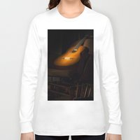 guitar Long Sleeve T-shirts featuring guitar by Arman Ayva