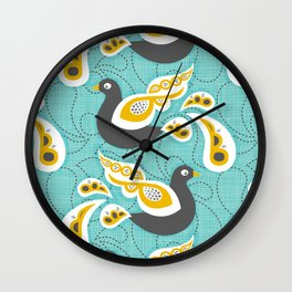 Birdsong Wall Clock